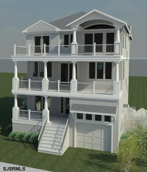 206 15th Street North, Brigantine NJ - New Ocean Front Home